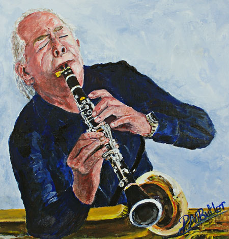 Laurie Fray in solo on his Selmer St Louis Bb Clarinet