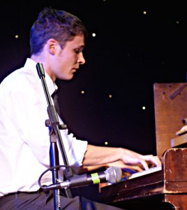 Brilliant young pianist, Ian Wynne