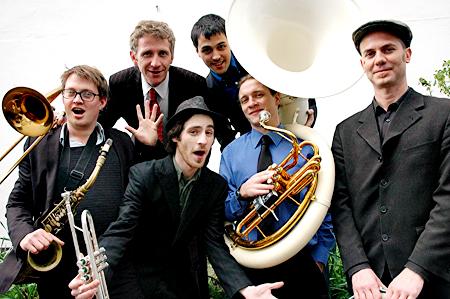 The Sunshine Kings Jazz Band Young Guns