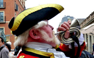 Town Cryer Alan Myatt