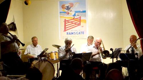 Jim Hurd (clarinet), Graham Reed (tuba), Chris Marchant (drums), John Whitehead (trumpet),  Keith Durston (piano), John Jeans (trombone),