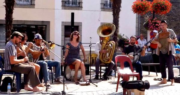 Tuba Skinny at Fest Jazz, July, 2014