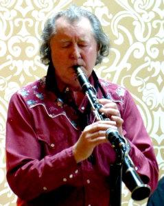 Sammy on Clarinet