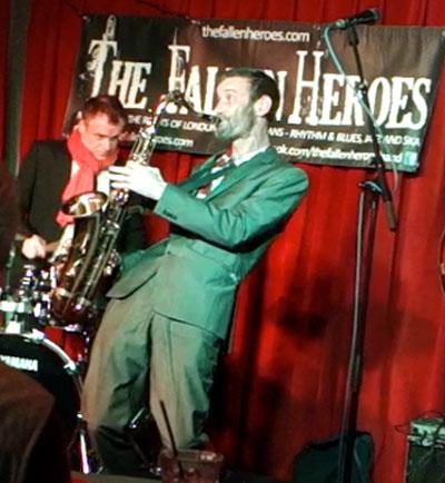 Enlightened Jazz: The Fallen Heroes at The Bull's Head, Barnes