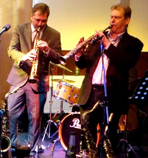 Simon Spillett and Trevor Whiting