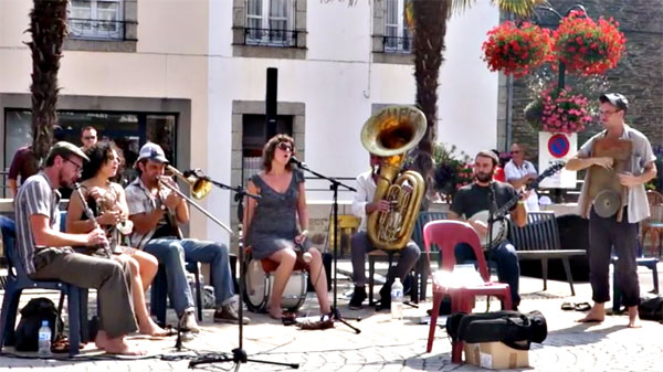 Tuba Skinny at Fest Jazz, Brittany in 2014. Why not yet in the UK?