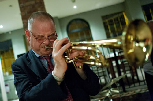Chris-trumpet