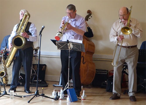 With Jazz Revisited at Lemsford Jazz Club