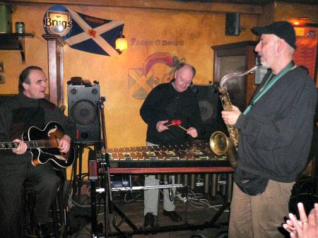 Papamutt, Michel Goldberg Au Pub Le Paddy, Vannes, juin 2006