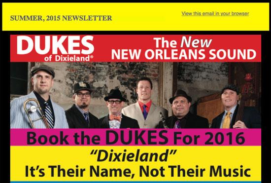Dukes-Newsletter
