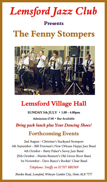 Lemsford 5th July Flyer