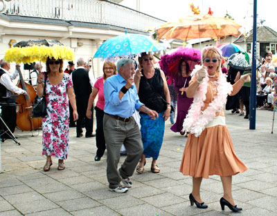 Ramsgate Seaside Shuffle Brolly Parade