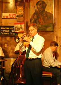 Clive Wilson, Preservation Hall, 2010 (Photo © Peter M Butler, Jazz&Jazz)