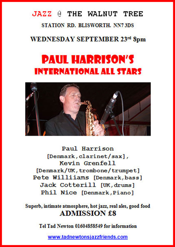 1.23.9 Paul Harrison Walnut