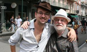 Allan and Robin Rapuzzi - jazz buddies!