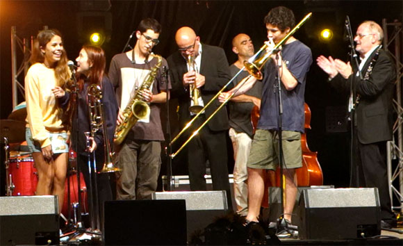 Sant Andreu Stars Jamming with Good Time Jazz
