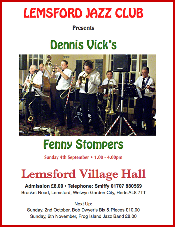 Fenny Stompers Flyer