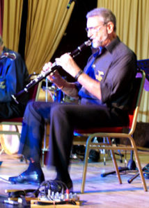 Alan Cresswell on Clarinet