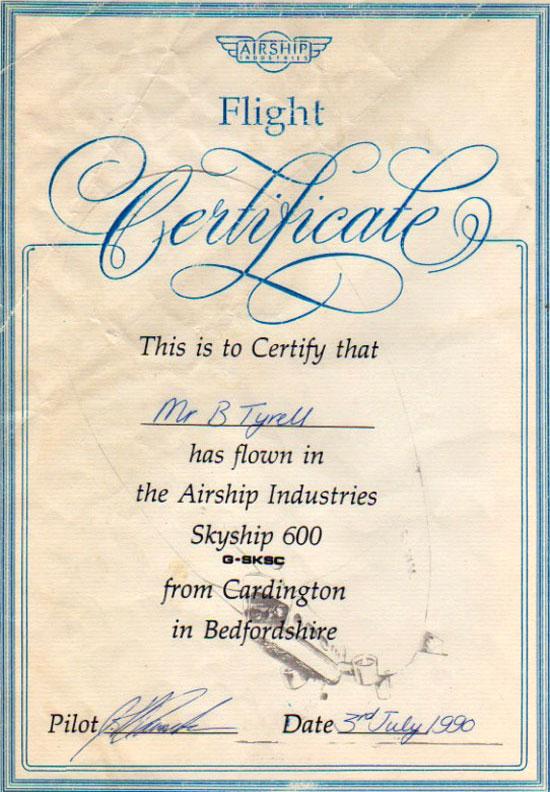 CertificateW