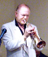 Pete Leonard on Trumpet