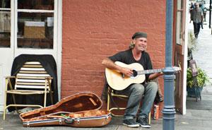 Street Musician 2010