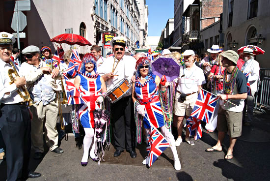 2010 UK Southern Sounds Contingent with Barry Martin