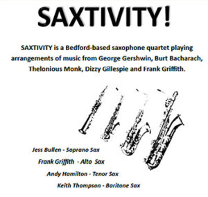 """An American in Bedford: Frank Griffith & """"Saxtivity"""" at The"""